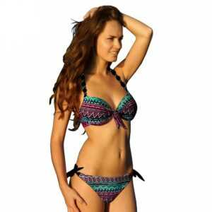 Brazilian Floral Printed Push Up Bikini Set