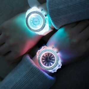 Silicone Creative Fashion Trend Jelly Watches