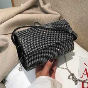2019 New High Quality PU Leather Women's Designer Chain Shoulder Handbag