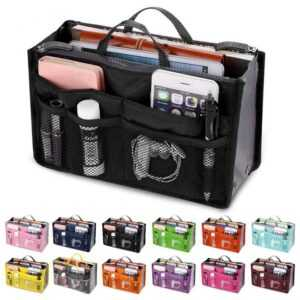 Cosmetic Makeup Travel Organizer Portable Beauty Pouch Functional Bag