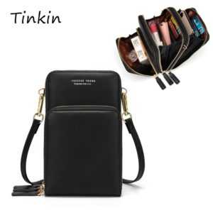 Colorful Daily Use Card Holder Cellphone Shoulder Bag for Women