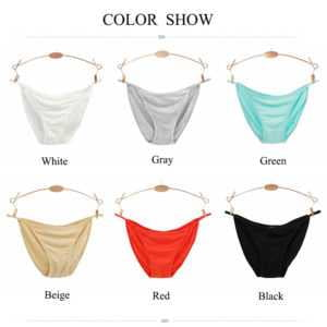 4pcs Low Waist Women's Seamless Panties