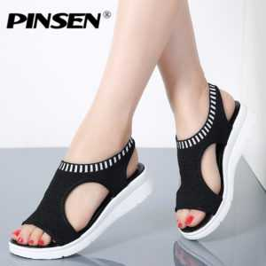New Ladies Slip-on Flat Sandals