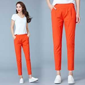 2020 NEW Women's Casual OL Office Slim Stretch Pants