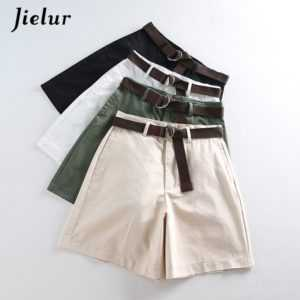 Women Loose Large Size Wide High Waist Leg Shorts