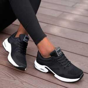 Fashion Women Lightweight Breathable Mesh Sneakers