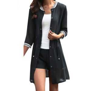 Ladies Chiffon Casual Cardigans