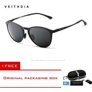 Aluminum Magnesium Mirror Polarized UV400 Lens Sunglasses Men/Women