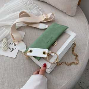 Suede Leather Crossbody Bags For Women Handbags