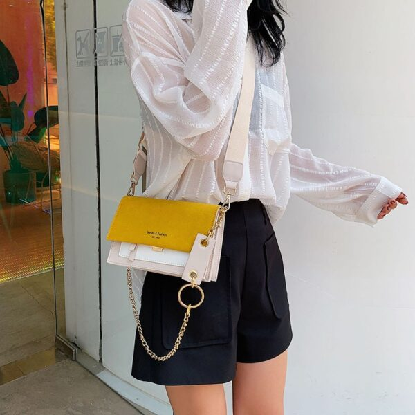 Fashion Small Suede Leather Crossbody Bags for Women Handbags 2020 New Ladies Designer Shoulder Messenger Bags Female Purses