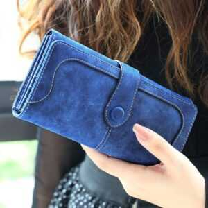 High Quality Matte Leather Lady Purse