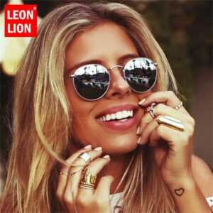 Ladies Round Luxury Retro Sun Glasses