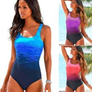 2021 Sexy One Piece Women Swimwear